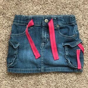 Denim skirt for toddler